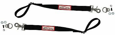 Racerdirect.net Sportsman Door Limit Strap Adjustable Limiting Straps Black