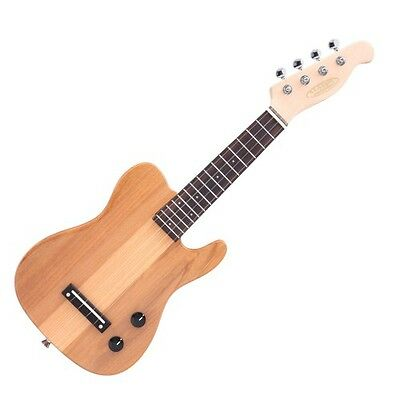Ref. 34202 Classic Cantabile UE-200TL NT ukelele electrónica Tele-Style natural
