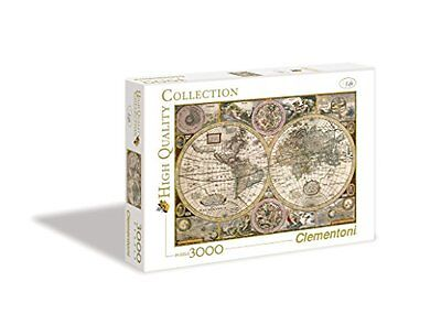 Clementoni Puzzle 33531 - Mappa Antica -  3000 pezzi High Quality Collection