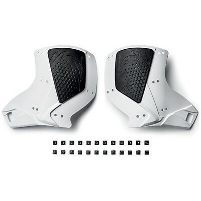 NEW Sidi MX Crossfire 2 Motocross Boots Replacement White Calf Section Plates