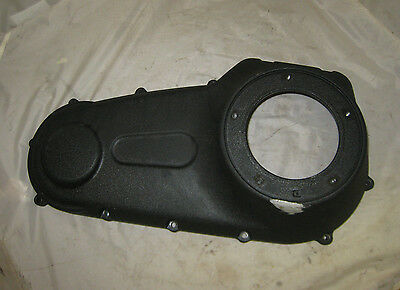 Harley-Davidson Black Wrinkle OUTER PRIMARY COVER Dyna Softail Harley '06-Later