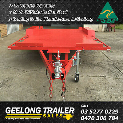 """car carrier Brand new 16x6'6"""" Beaver tail (Geelog Trailer Sales)"""