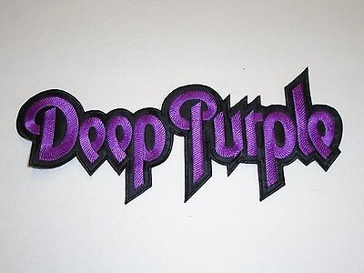 Deep Purple Embroidered Back Patch
