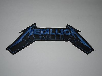Metallica Embroidered Back Patch