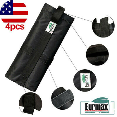 Sand Rock Dirt Weight Bags Leg Weights 4pc-Pack For EZ Pop Up Patio Canopy Tent