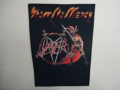Slayer Show No Mercy Sublimated Back Patch