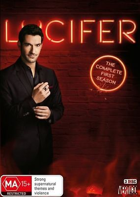 Lucifer : Season 1 (DVD, 2016, 3-Disc Set) (Region 4) Aussie Release