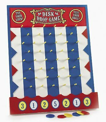 Wooden Disk Drop Game Plinko Style New Carnival Party New Fast Shipping
