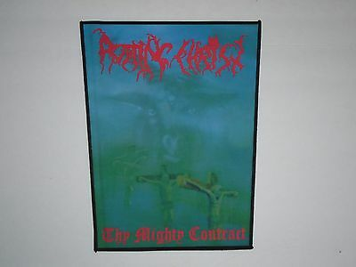 Rotting Christ Thy Mighty Contract Sublimated Back Patch