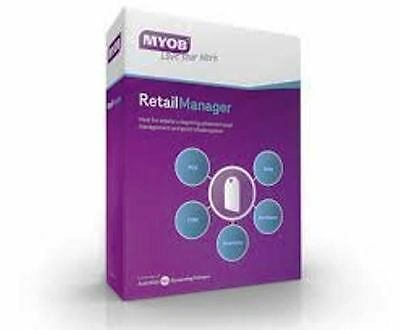 MYOB Retail Manager v12.5 Point Of Sale Software with 12 Months Support