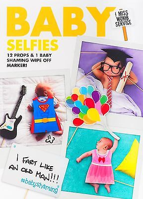 Baby Selfies Set Neugebores Foto Requisiten Babyparty Familie Picture Zubehör
