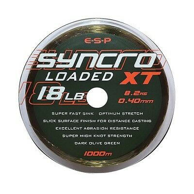 NEW ESP Syncro XT Loaded Mainline Fishing Line - 15lb - ELSYLXT015
