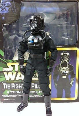 "Marmit Star Wars Tie Fighter Pilot 1/6 13"" Scall Action Figure Complete Kit NIB"