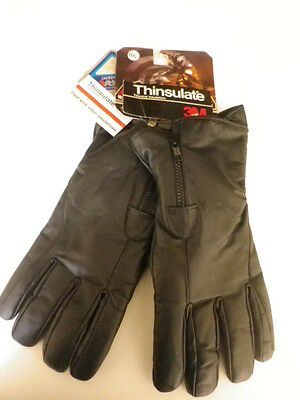 Gants Cuir Hiver Moto Scooter Taille M Hipora+Thinsulate/ Glove