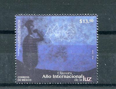 Mexico 2016 MNH International Year of Light 1v Set UNESCO Science Stamps