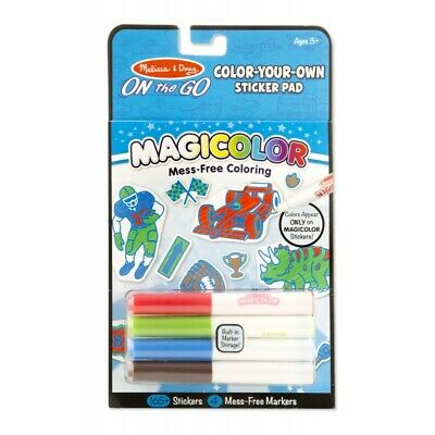 Melissa and Doug On The Go - Magicolor - Sticker Pad Blue