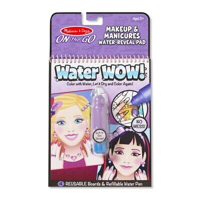 Melissa and Doug On The Go - Water WOW! - Makeup & Manicure