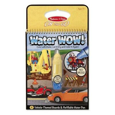 Melissa and Doug On The Go - Water WOW! - Vehicles