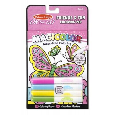 Melissa and Doug On The Go - Magicolor - Colouring Friends & Fun