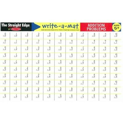 Melissa and Doug - Addition Write-A-Mat