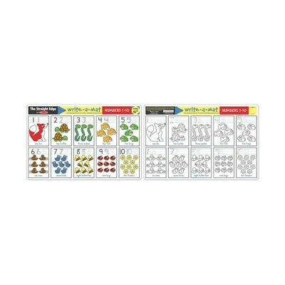 Melissa and Doug - Numbers 1-10 Write-A-Mat