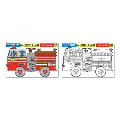 Melissa and Doug - Fire Engine Colour-A-Mat