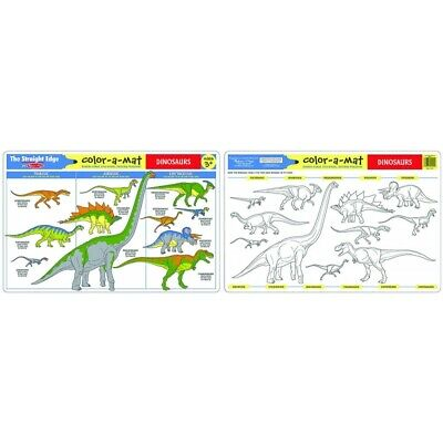 Melissa and Doug - Dinosaurs Colour-A-Mat