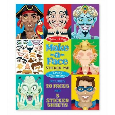 Melissa and Doug Make-a-Face - Crazy Characters