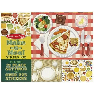 Melissa and Doug Sticker Pad - Make-A-Meal