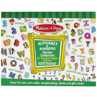 Melissa and Doug Sticker Collection - Alphabet & Numbers