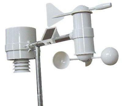 WS200 Pro Professional Weather Station Solar Powered 100m Range