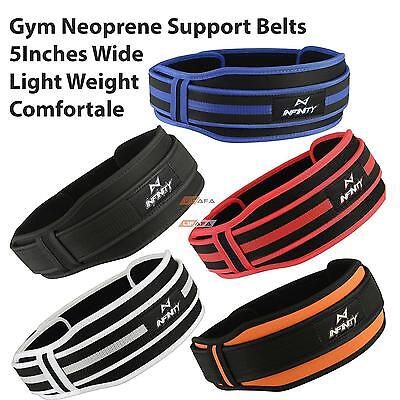 Weight lifting Gym Fitness Belt Training Back Support Body Building Lumbar Pain