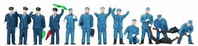 "Tomytec (Ningen 104) Model People ""Railroad Workers"" 1/15 N scale"