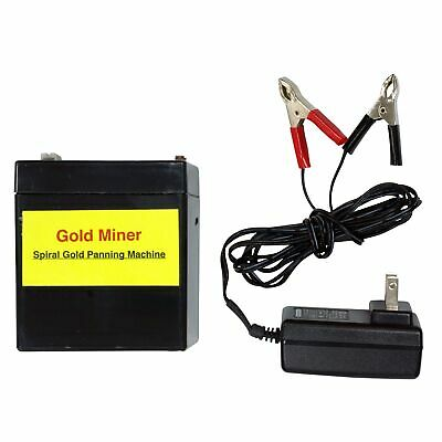Gold Miner Battery Charger Package for Spiral Gold Panning Machine TGP-002