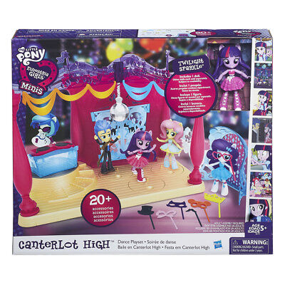 My Little Pony Equestrian Girls Minis Canter Lot High Dance Playset