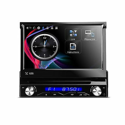 Autoradio 1 Din Gps Dvd Usb Sd Divx Bluetooth Screen Mirroring 7 Xtrons