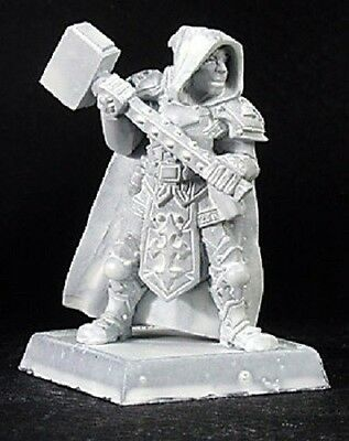 Broderick Crusaders Cpt Reaper Miniatures Warlord Cleric Paladin Fighter Melee