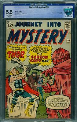 Journey Into Mystery 90 Cbcs 5.5 - Ow/w Pages