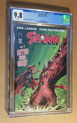 Spawn #259 1st Print McFarlance Cover and Story CGC 9.8 NM+/M
