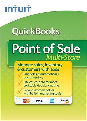UPGRADE to v12 - QB POS (MULTI STORE) Intuit QuickBooks Point of Sale Version 12
