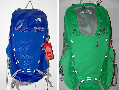 The North Face Men Casimir 32 Pack - New Backpack Blue - Green
