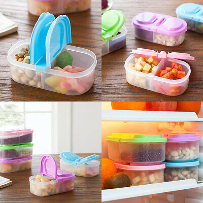Lunch Box Refrigerator Food Fruit Container Storage Box Portable Bento Kitchen