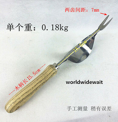 Stainless Steel Dig Root Device For Garden Plant Weeding & Pulling Seedling