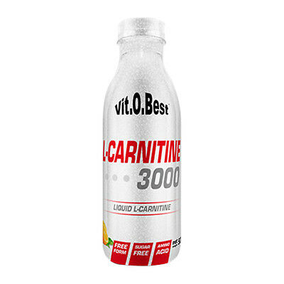L-CARNITINA 3000mg 500 ml. SABOR COLA ZERO VITOBEST