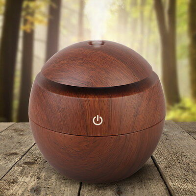 Ultrasonic Aroma Diffuser Humidifier Air Purifier Essential Oil Aromatherapy UK