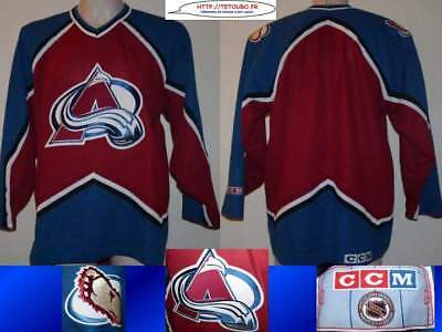 Maillot jersey de hockey sur glace NHL Colorado AVALANCHES L