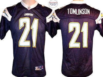 Maillot nfl Foot US américain CHARGERS 21 Tomlinson S (fr)