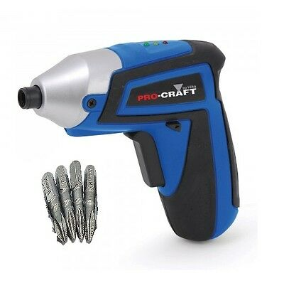 Heavy Duty 4.8V Electric Rechargeable Battery Cordless Screwdriver Drill