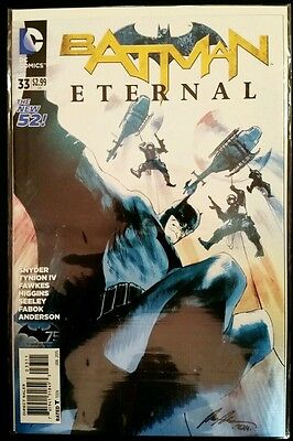 BATMAN ETERNAL #33 1st Print (2014 The NEW 52 DC Comics) Comic Book NM NEAR MINT