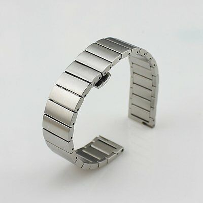 16mm Silver Stainless Steel Watch Band Wrist Strap For Moto 360 2 42mm Women